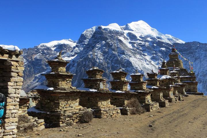 La vallée de Naar-Phu Annapurna