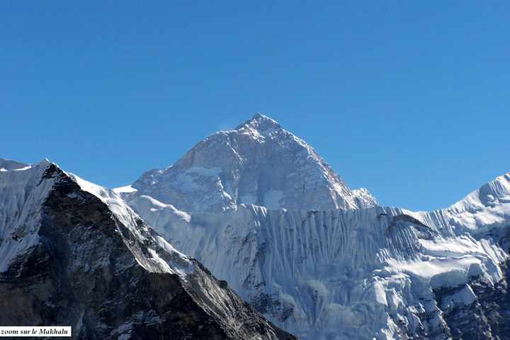 Les trois hauts cols de  l'Everest